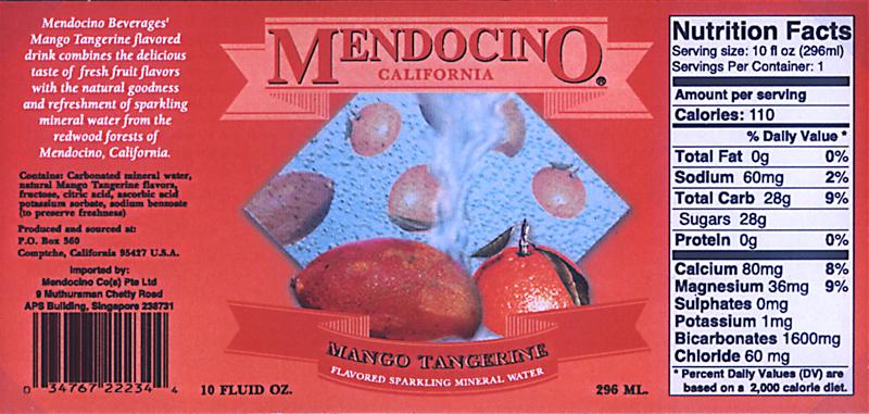 Mendocino Beverages International